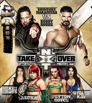 NXT TakeOver: San Antonio - Promotional poster