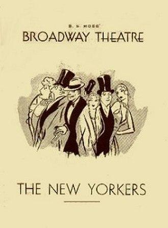 The New Yorkers - Original Broadway program