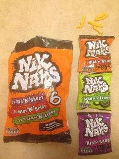 Promover fluctuar protestante  Nik Naks (British snack) - Wikipedia