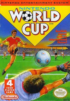 Nintendo World Cup - North American Cover art