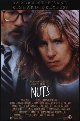 Nuts (1987 film) - Theatrical release poster