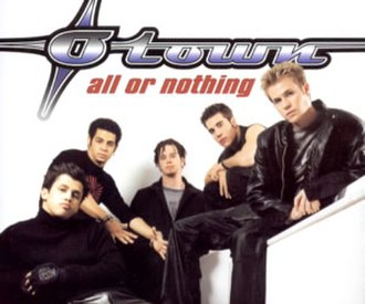 All or Nothing (O-Town song) - Image: O Town all or nothing single cover