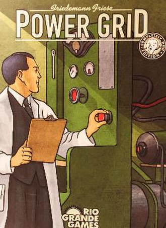 Power Grid - Box Cover of Power Grid by Friedemann Friese