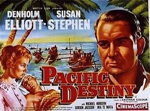 Pacific Destiny - British theatrical poster