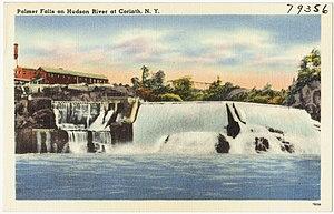 Corinth, New York - Palmer Falls c.1930-1945