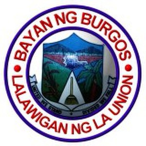 Burgos, La Union - Image: Ph seal la union burgos