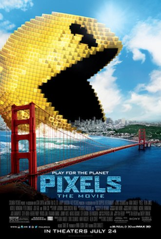 Pixels (2015 film) - Theatrical release poster