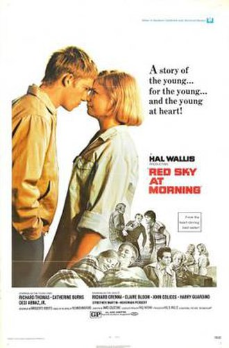 Red Sky at Morning (1971 film) - Image: Poster of Red Sky at Morning (1971 film)