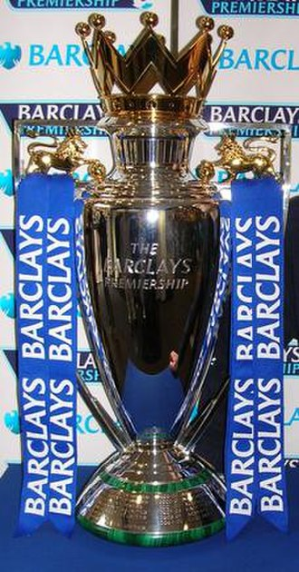Trophy - The Premier League Trophy is an example of a loving-cup trophy.