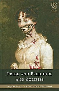 <i>Pride and Prejudice and Zombies</i> book by Seth Grahame-Smith