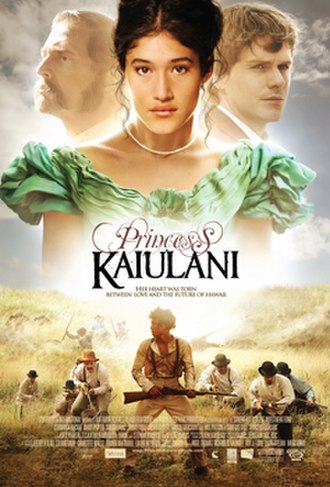 Princess Kaiulani (film) - Poster for US theatrical release
