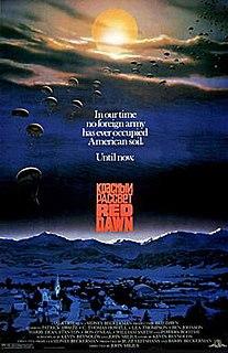 <i>Red Dawn</i> 1984 war film directed by John Milius