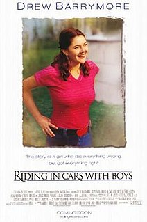 <i>Riding in Cars with Boys</i> 2001 American biographical film directed by Penny Marshall