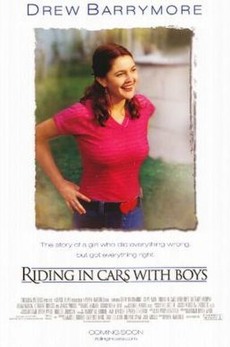 Riding in Cars with Boys - Image: Riding in Cars with Boys film poster