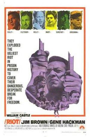 Riot (1969 film) - Image: Riot Film Poster