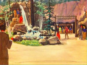 Walt Disney's Riverfront Square - Image: Riverfront Square Concept art