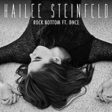 Rock Bottom (featuring DNCE) (Official Single Cover) by Hailee Steinfeld.png