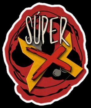 Súper X (TV series) - Image: Súper Xlogo