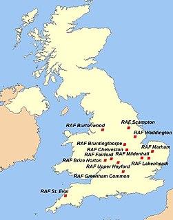 Strategic Air Command in the United Kingdom