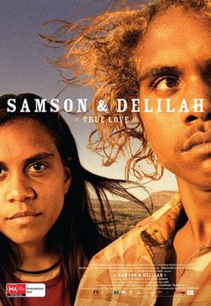 Samson and Delilah (2009 film) - Theatrical release poster