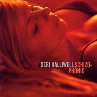 Schizophonic (Geri Halliwell album) - Image: Schizo ukcd