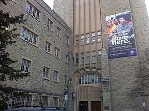 University of Western Ontario - The Medical Sciences Building houses the Schulich School of Medicine & Dentistry, one of twelve faculties and schools at Western.