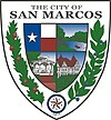 Official seal of San Marcos, Texas