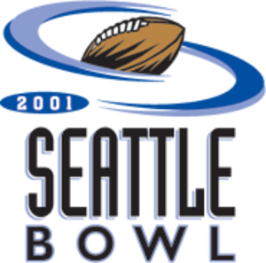 2001 Seattle Bowl - 2001 Seattle Bowl logo