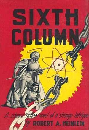 Sixth Column - First edition cover.