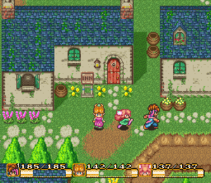 Action role-playing game - Secret of Mana (1993), an action RPG that was acclaimed for its cooperative multiplayer