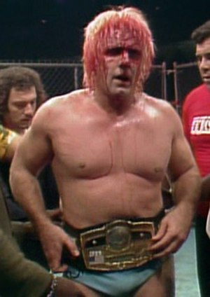 Starrcade (1983) - Ric Flair, after winning the NWA World Heavyweight Championship for the second time