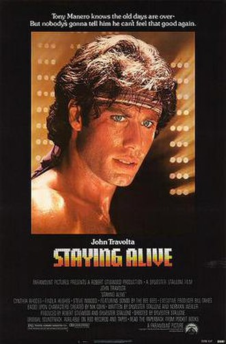 Staying Alive (1983 film) - Theatrical release poster