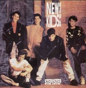 Step by Step (New Kids on the Block song) - Image: Step by Step single cover