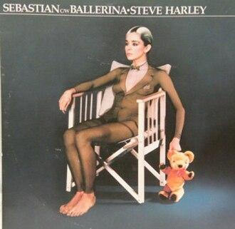 """Ballerina (Prima Donna) - Image: Steve Harley Cockney Rebel Ballerina 12"""" Single Cover 1983"""