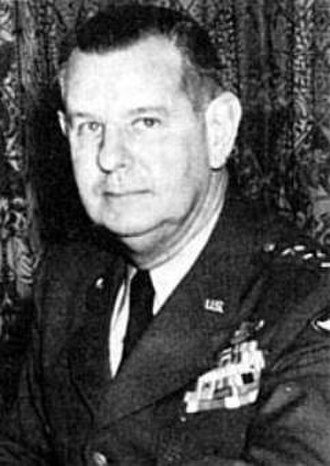 United States Air Force In South Korea - Lt. Gen. George E. Stratemeyer. Commander in Chief of Far East Air Force during the Korean War.