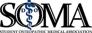 Student Osteopathic Medical Association - Image: Student Osteopathic Medical Association logo