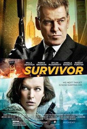 Survivor (film) - Theatrical release poster