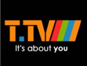 T.TV - The current logo of T.TV
