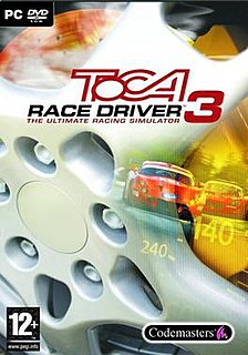 <i>TOCA Race Driver 3</i> racing video game by Codemasters