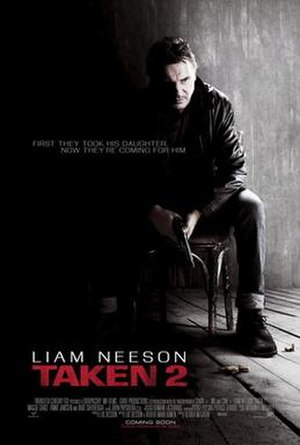 Taken 2 - Theatrical release poster
