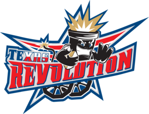 Texas Revolution (indoor football) - Image: Texas Revslogo