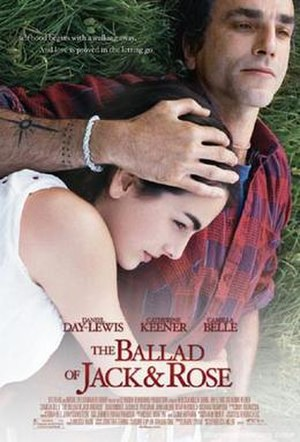 The Ballad of Jack and Rose - Theatrical release poster
