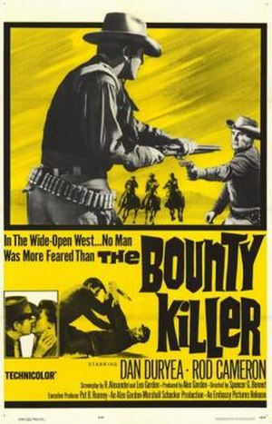 The Bounty Killer (film) - Theatrical release poster