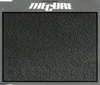 <i>The Peel Sessions</i> (The Cure EP) 1988 EP by The Cure