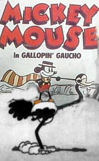 <i>The Gallopin Gaucho</i> 1928 Mickey Mouse short directed by Ub Iwerks