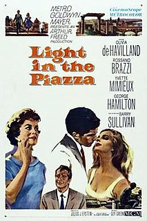 <i>Light in the Piazza</i> (film) 1962 film by Guy Green
