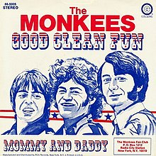 Image result for good clean fun the monkees single images