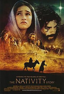 <i>The Nativity Story</i> 2006 film directed by Catherine Hardwicke