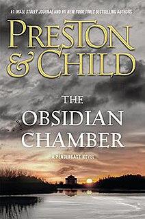 <i>The Obsidian Chamber</i> book by Douglas Preston