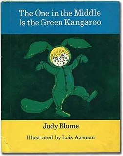 <i>The One in the Middle Is the Green Kangaroo</i> book by Judy Blume
